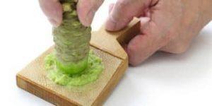 preparación del wasabi